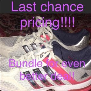 Last chance pricing! Adidas running shoes